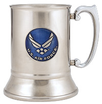 Air Force Stainless Steel Tankard