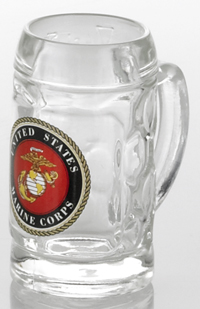 U.S. Marine Corps Mini Isar Glass Shot