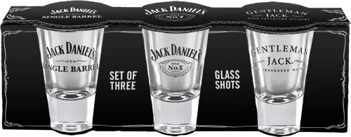 Jack Daniel's Set Of 3 Shot Glasses