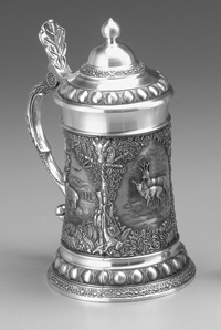 WILDLIFE PEWTER STEIN
