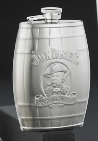 Jack Daniel's Cameo 6 Oz. Barrel Flask