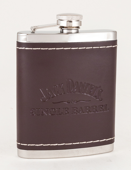 Jack Daniel's Single Barrel Leather Flask