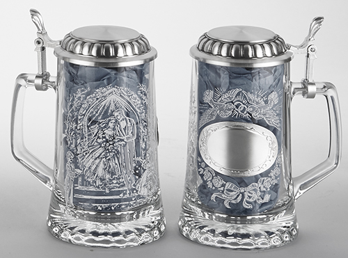 GLASS WEDDING STEIN