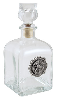 FIREFIGHTER DECANTER