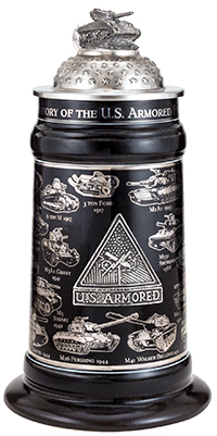 U.S. ARMORED FORCES STEIN
