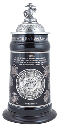 History of the Eagle/Globe/Anchor Stein