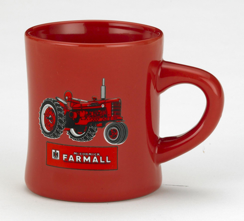 *CASE DINER MUG FARMALL RED