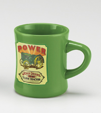 *JOHN DEERE POWER DINER MUG