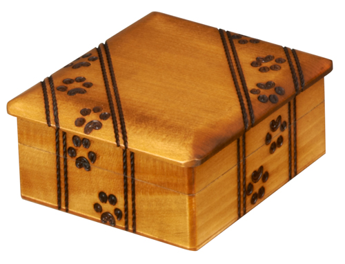 SMALL PAW PRINTS BOX