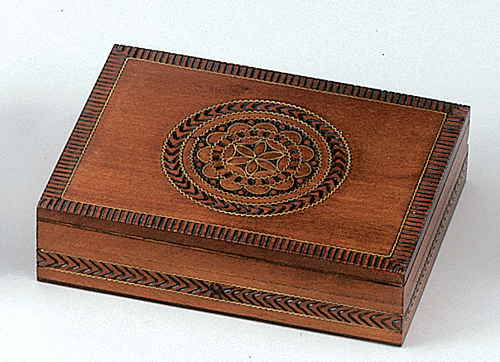 PLAYING CARD BOX/MAPLE