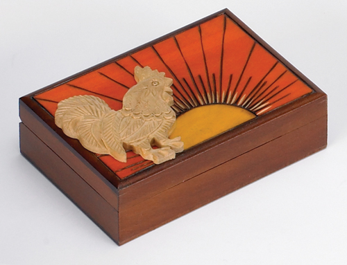 ROOSTER RISE N SHINE BOX