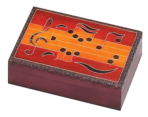 MUSIC NOTES BOX