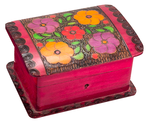 BRIGHT FLORAL CHEST BOX