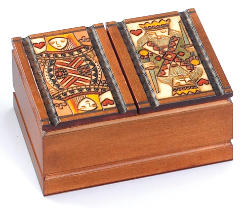 FOUR DECK HIDDEN CARD BOX
