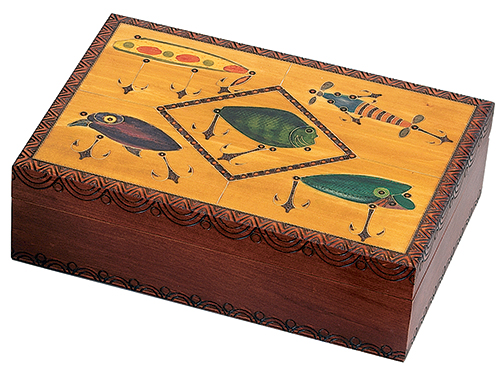 *WRIGHT SMALL LURES HUMIDOR BOX