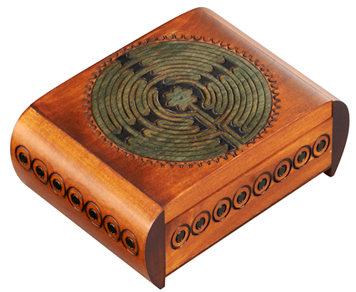 CARVED TRICK BOX