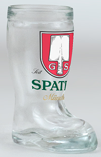 Spaten Mini Glass Boot