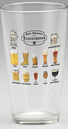 "Pint Glass ""Bier Glasses of Deutschland"""