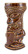 Brown Tiki Mug