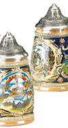 MINI SHIELD STEIN, CITY SCENES