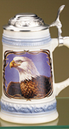 James Meger Bald Eagle I Stein