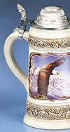 James Meger Bald Eagle II Stein