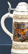 *JAMES MEGER WHITE TAIL DEER II STEIN