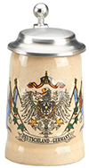Mini Deutsch Flags Mug With Lid