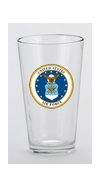 U.S. Air Force Mixing Glass