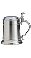 0.5L Pewter Engravable Stein
