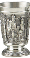 PEWTER NEUSCHWANSTEIN SHOT GLASS