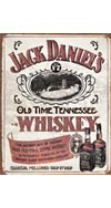 Jack Daniel's Old Time Whiskey Tin Sign