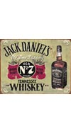 Jack Daniel's Vintage Bottle Tin Sign