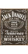 Jack Daniel's Weathered Label Tin Sign