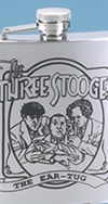 *THREE STOOGES EARTUG FLASK