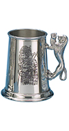 SCOTTISH PIPER TANKARD