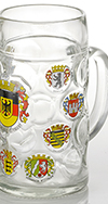 1.0L  Isar Crest Glass Mug