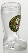 Army Mini Boot Glass Shot