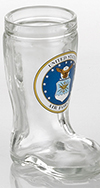Air Force Mini Boot Glass Shot