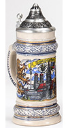 Land of Bavaria Stein, 0.3L