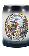 Black Rothenburg Mug
