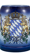 Blue Bavarian Flag