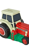 Case Red Tractor Bank