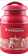 FARMALL MILK CAN COOKIE JAR