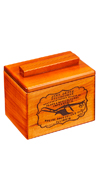 JOHN DEERE RECIPE BOX WITH ENGRAVED PLOW