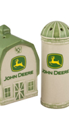 JOHN DEERE SALT AND PEPPER SET