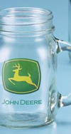 *JOHN DEERE TRADEMARK DRINK JAR