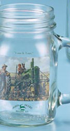 *JOHN DEERE LUNCH TIME DRINK JAR