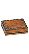 COPPER/BRASS INLAY BOX