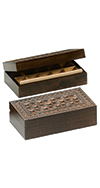 Carved Jewel/Stamp Box